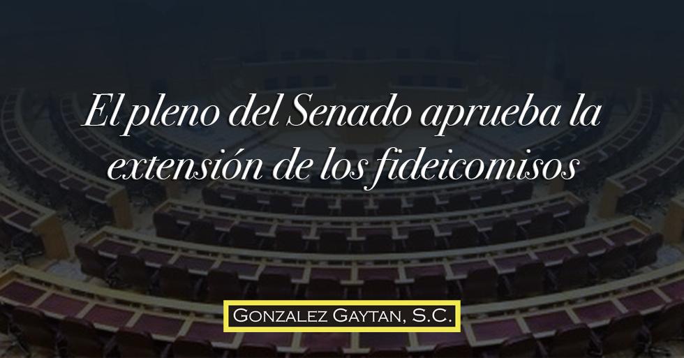 Pleno del senado